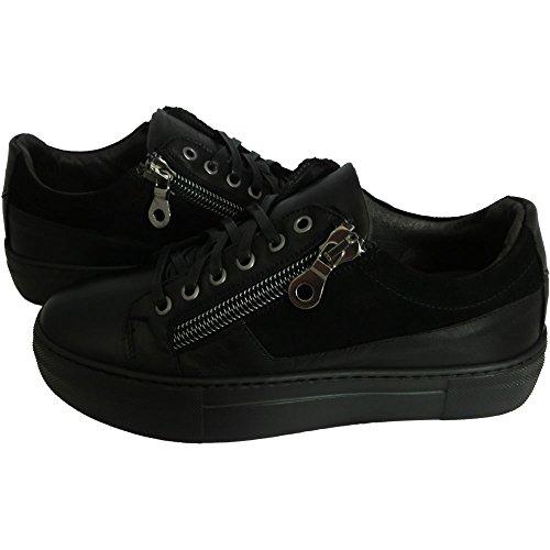Exton - Zapatillas para hombre Negro negro 45 meiul9M