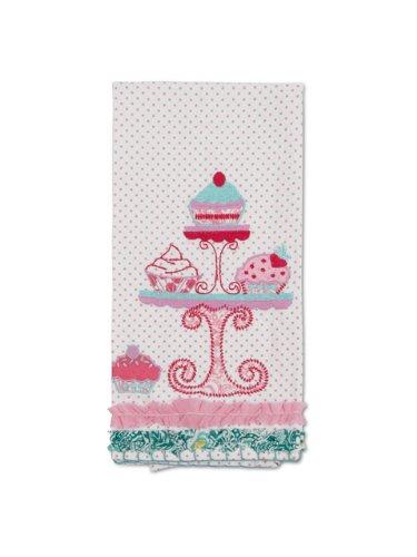"Abbott Collection Cupcakes Tea Towel, 20 x 28"""