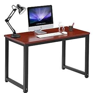 Amazon Com Computer Desk 47 Quot Large Office Desk Computer