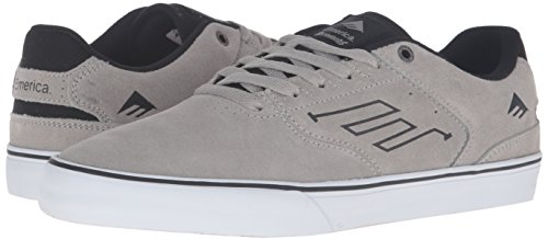 Emerica The Reynolds Low Vulc, Color: Grey/Black, Size: 45.5 EU / 11.5 US / 10.5 UK