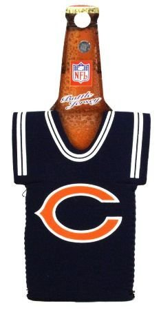 CHICAGO BEARS BOTTLE JERSEY KOOZIE COOZIE COOLER by Kolder