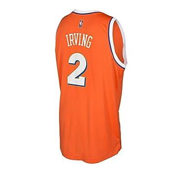 Kyrie Irving Cleveland Cavaliers naranja de madera dura Classics Adidas Jersey, Anaranjado: Amazon.es: Deportes y aire libre