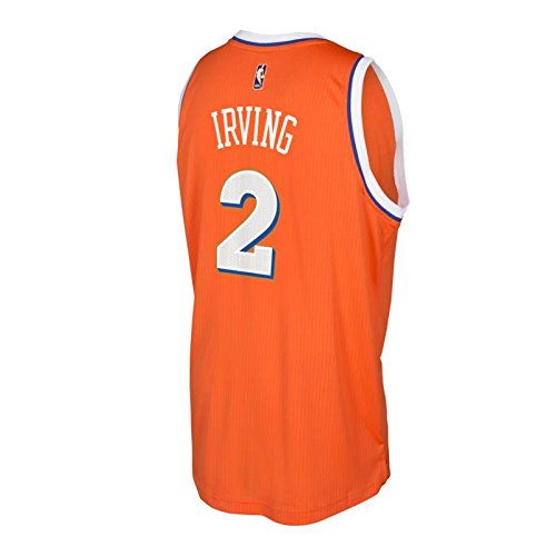 b24b7784f ... Amazon.com Kyrie Irving Cleveland Cavaliers Orange Hardwood Classics  adidas Swingman Jersey Sports Outdoors ...