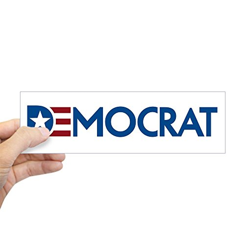 CafePress Democrat Sticker (Bumper) 10