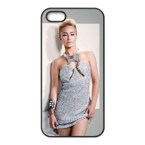 Hayden Panettiere coque iPhone 5 5S cellulaire cas coque de téléphone cas téléphone cellulaire noir couvercle EOKXLLNCD24319