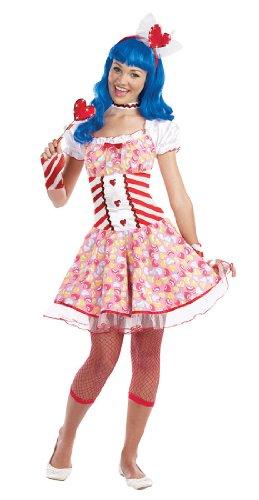 Juniors Dream Girl 8284 lollipop sensation color:COSTUME size:XS - Katy Perry Roar Halloween Costume