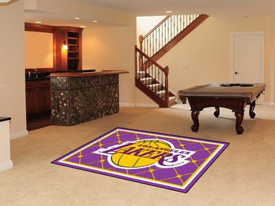 NBA - Los Angeles Lakers 5 x 8 Rug