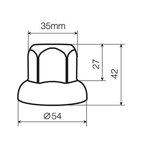 LAMPA 98031 Set Copribulloni 40 Pezzi