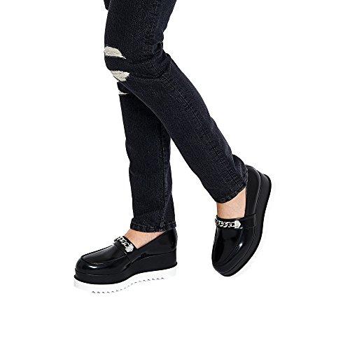 Karl Lagerfeld , Mocassins pour femme noir Schwarz IT - Marke Größe