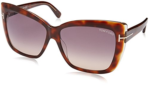 Tom Ford TF390 53F Tortoise Irina - Brown Cats Eyes Sunglasses Lens Category - Ford Sunglasses Cat Tom Eyes