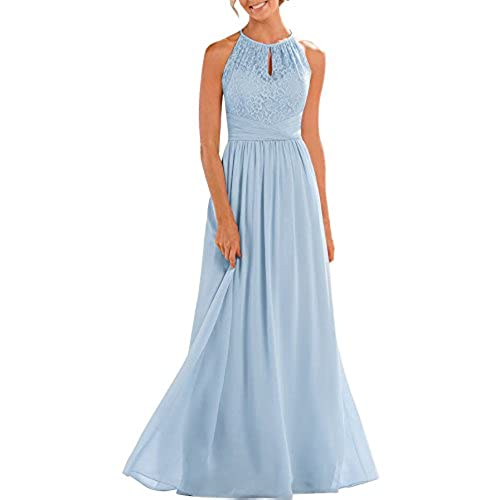 Light Blue Bridesmaid Dresses Long: Amazon.com