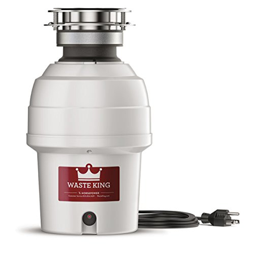 Waste King 9940 Continuous Feed Garbage Disposal, 3/4 HP