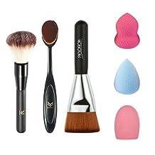 Xuanhemen 6Pcs/set Professional Makeup Brush Blending Blush Eyeliner Face Powder Brush