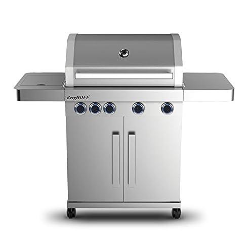 Berghoff 2415501 Outdoor-Küche Mit 4 Flammen Und Seitenflamme