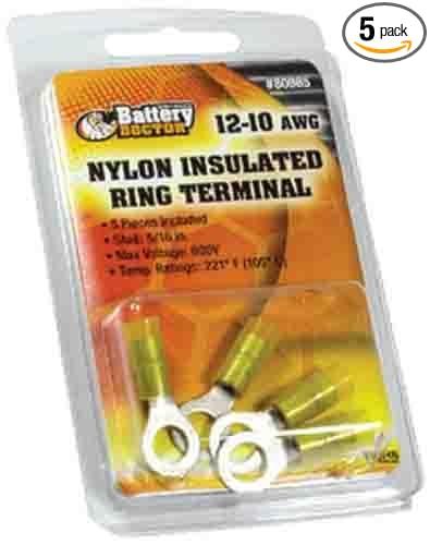 WirthCo 80865 Nylon Ring Terminal 5 Pack