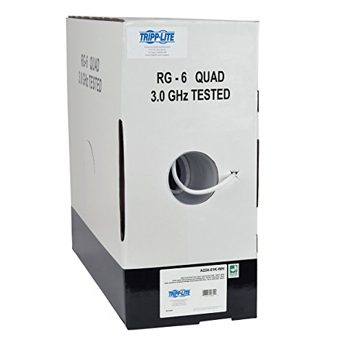 quad shield rg6 white - 2