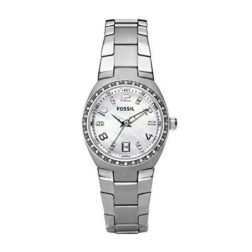 Stainless Womens Steel Fossil Bracelet (Fossil Women's Colleague Stainless Steel Watch AM4141)
