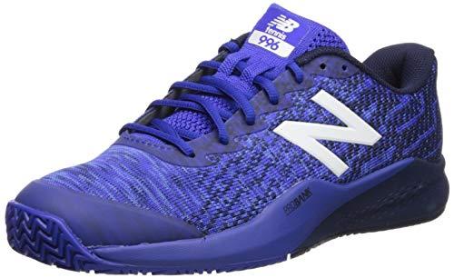 New Balance Men's 996v3 Clay Court Tennis Shoe, UV Blue/Pigment, 10.5 D US