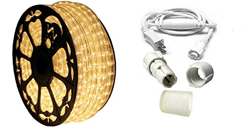 120V Dimmable LED Type 513 Warm White Rope Light Kit - 513PRO Series (Standard Kit, Warm White) by AQL (Image #3)