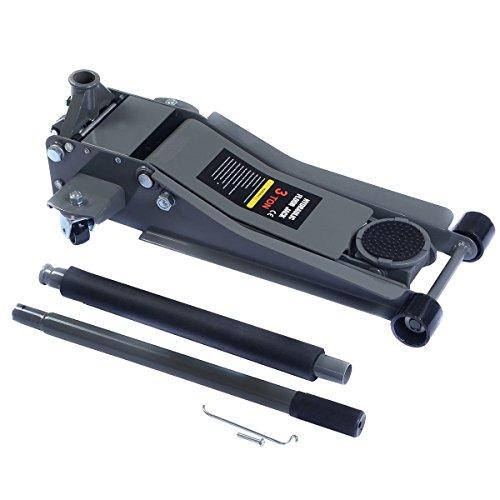 Heavy Duty Low Profile Floor 3 Ton Jack Steel Ultra Rapid Pump Car Pump Lowrider by Apontus (Image #2)