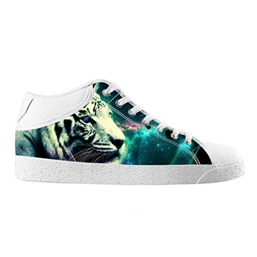 Cheese Weihnachten Glücklicher Tiger Hohe Qualität Schuhe Canvas Custom Chukka für herren, EUR 44