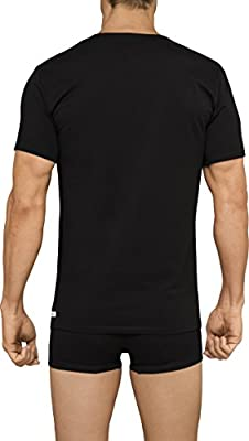 Calvin Klein Men's Undershirts Cotton Stretch 2 Pack V Neck T-Shirts
