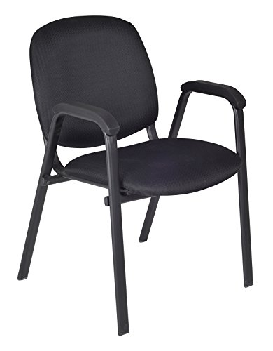 ce Stack Chairs (Set of 18), Midnight Black ()