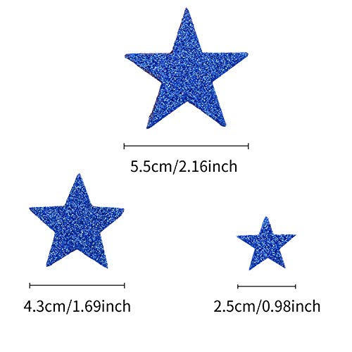 Buy glitter stars foam stickers