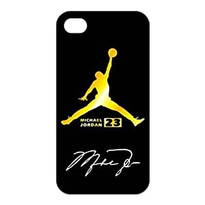 Air Jordan Treasure Pattern Silicone Rubber Non-slip Protective Cover Case Skin For Apple iPhone 5 5S