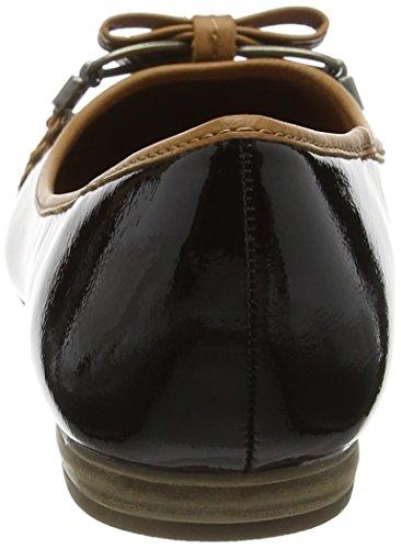 Marco Tozzi22138 - Bailarinas Mujer Negro (Black Comb 098)