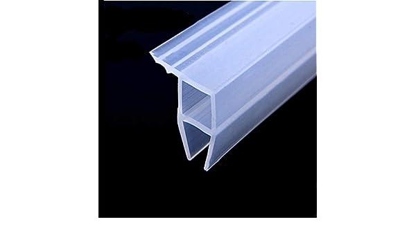 Junta para mampara de ducha Tira de sellado de puertas y ventanas de 300 cm de longitud para un espacio de 6-12 mm hasta 10 mm-6 mm: Amazon.es: Bricolaje y herramientas