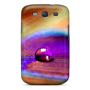 Premium Galaxy S3 Case - Protective Skin - High Quality For Peacock Feather