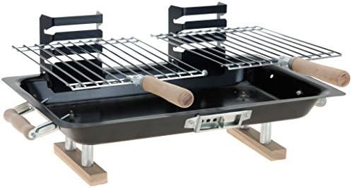 chiccie BBQ Pequeño - Parrilla para mesa - 44 cm x 27 cm ...
