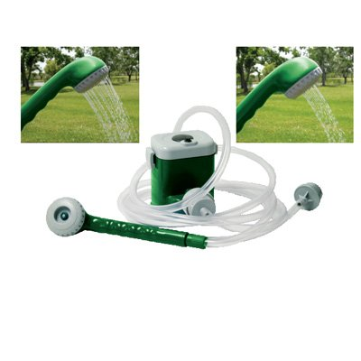 Battery Powered Shower Portable Shower Camp Shower (2 Spray Settings) by EZ