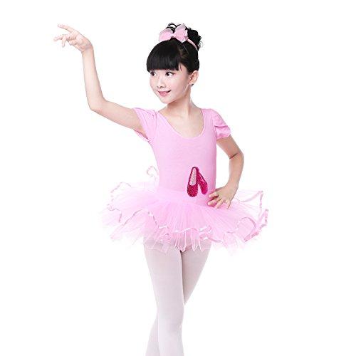 Embiofuels(TM) Professional Girls Pink Princess Tutu Skir...