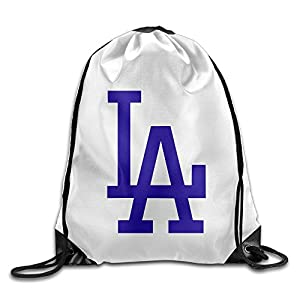 HAOHAO Men's Los Angeles Culture Drawstring Backpacks/Bags