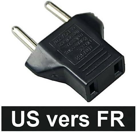 NiceButy - Adaptador de corriente para Reino Unido de Estados Unidos y China, Canadá a Francia BE Bélgica EU: Amazon.es: Electrónica