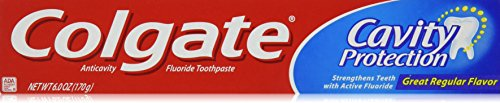 (Colgate Cavity Protection Regular Fluoride Toothpaste, 6 oz)
