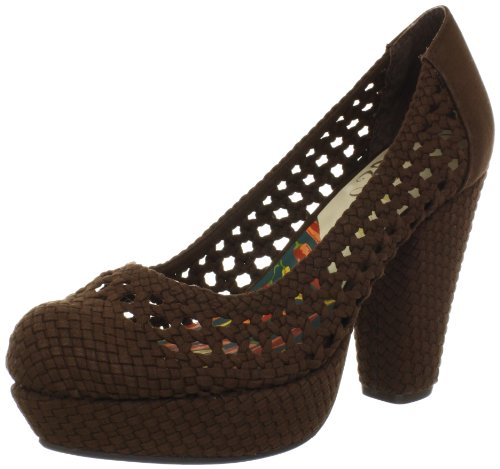 Vogue Women's CA-Million Pump,Brown,8 M - Shop Vogue Online