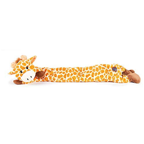 - CHARMING Pet Longidudes Giraffe Squeaky Dog Toy