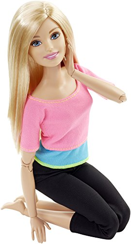 Barbie Made to Move Barbie Doll, Pink Top