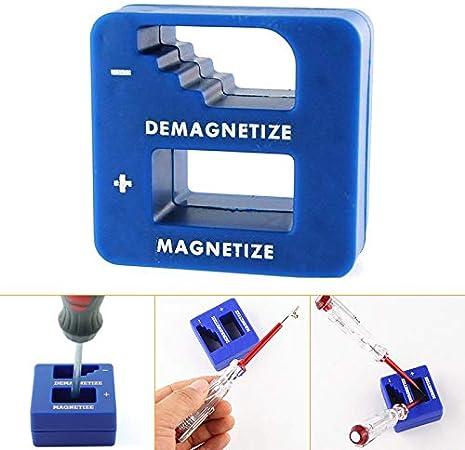 D/émagn/étiseur de pr/écision Magn/étiseur Outil magn/étique pratique et portatif pour embouts de tournevis Embouts de vis