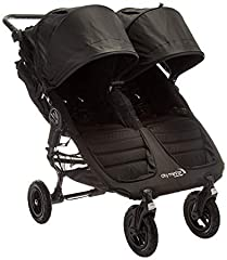 The City Mini GT Double Stroller from Baby Jogger boasts a highly maneuverable and easy-to-use, side-by-side design that brings compact, all-terrain mobility to a whole new level. Perfect for taking twins or different age siblings on strollin...