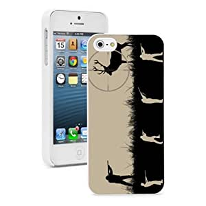 For Apple iPhone 4 4S Hard Case Cover Sniper Shooting Hunting Deer -02