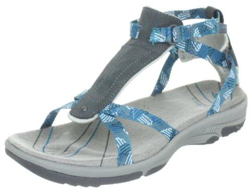 Hi-Tec Women's Harmony Ankle Strap Sandal Graphite/Cool Grey/Ultramarine