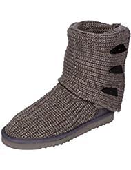 Kemi Womens Classic Knit Sasha Tall Toggle Winter Boot