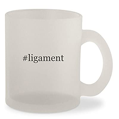 #ligament - Hashtag Frosted 10oz Glass Coffee Cup Mug