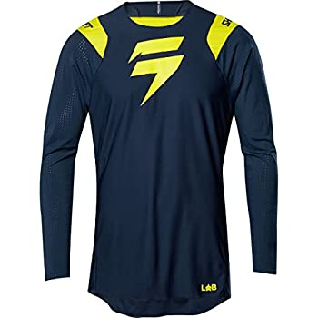 Shift Racing 3lue Ghost Collection LE Mens Off-Road Motorcycle Jersey Grey//Medium