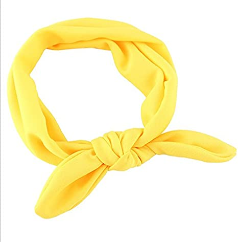 Fascigirl 12 Piezas Anudadas Beb/é Hairband Turbante para Un Infante Reci/én Nacido La Ni/ña De Cinta De Cabeza
