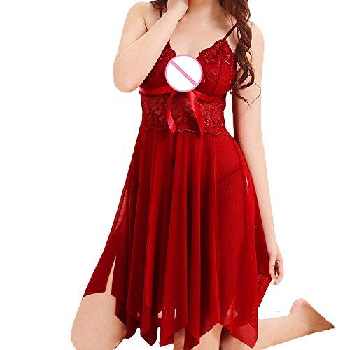 bd4d2740ce Women Lingerie IEason Fashion Women Cute Sexy Bow Uniforms Temptation  Underwer Nightdress